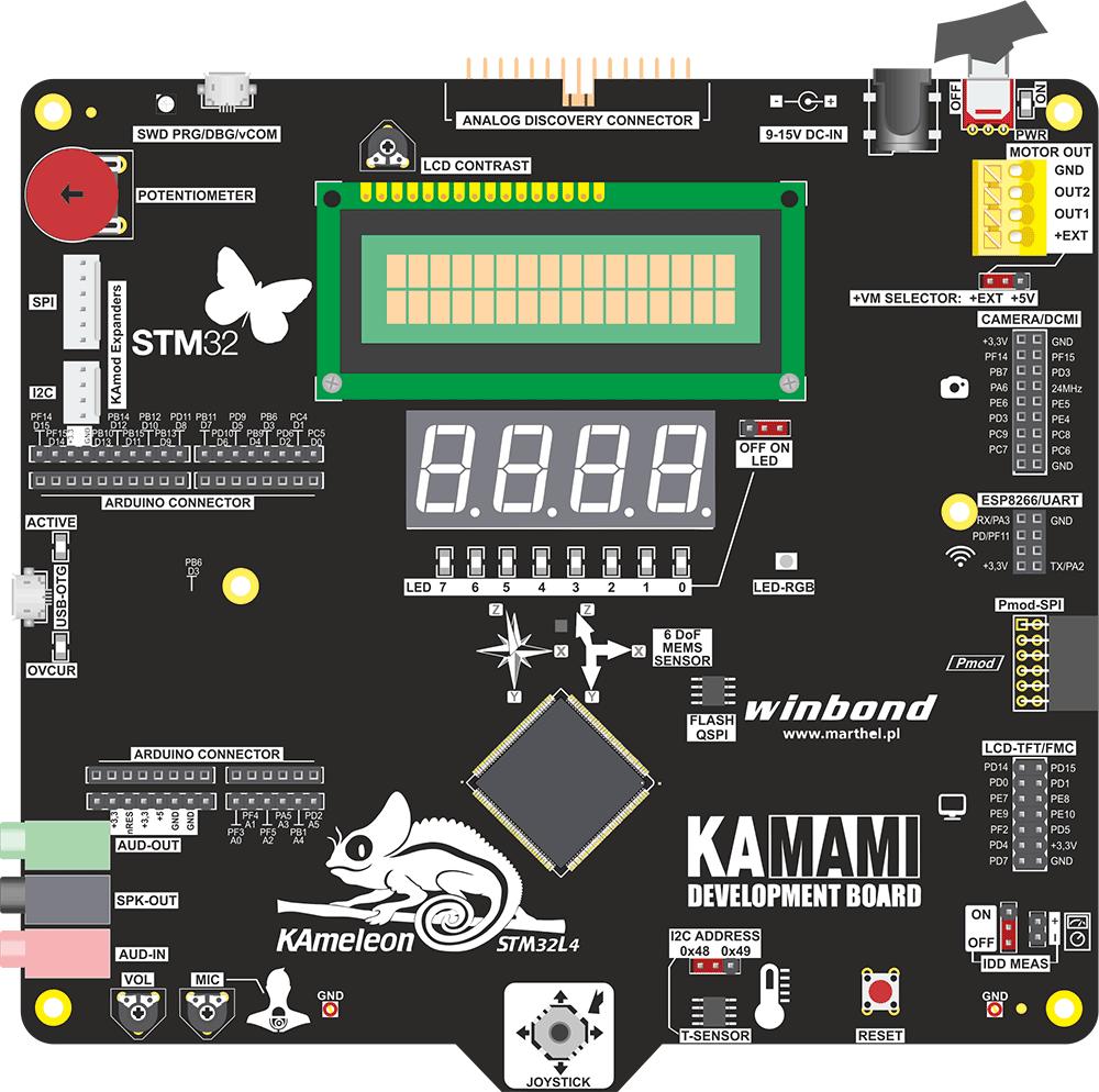 Kameleon STM32L4 Board | Kameleon STM32L4 Board - STM32
